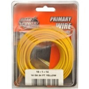 Coleman Cable 16-1-14 16 Gauge Primary Wire Yellow 7.3m Cd