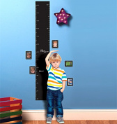 Wallies 16061 Chalkboard Growth Chart Big Wall Sticker