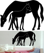Wizard & Genius DM74107 Mare And Foal Wall Decals