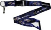 Aminco International NFL-LN-095-31PR Lanyard - Baltimore Ravens Purple