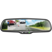 Boyo VTM43M 11cm . OE-Style Replacement Rearview Mirror Monitor