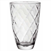 Majestic Gifts E63327-US Concerto 24cm . High Quality Glass Vase