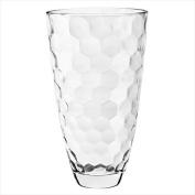 Majestic Gifts E64654-US Honey 30cm . High Quality Glass Vase