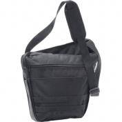 BNFUSA LUMB Extreme Pak 33cm . Black Messenger Bag with 2 Interior Compartments