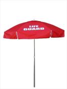 Kemp 12-004-RED 1.8m Guard Umbrella Red