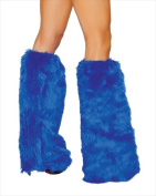 Roma Costume 14-C121-RB-O-S Fur Boot Covers One Size - Royal Blue