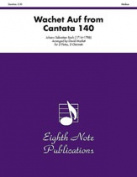 Alfred 81-WWE2328 Wachet Auf- from Cantata 140 - Music Book