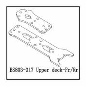 Redcat Racing BS803-017 Aluminium Front- Rear Upper Deck