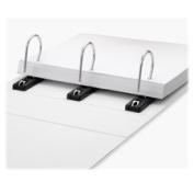 Ideastream Products IDESNS01701 Gapless View Binder- 7.6cm . Capacity- 28cm .x 8-.130cm .- White