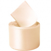 Papilion R07430538011250YD 3.8cm . Single-Face Satin Ribbon 50 Yards - Nude