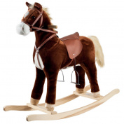 Happy TrailsT Plush Rocking Horse