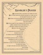 AzureGreen EPRAMP Ramblers Prayer Poster