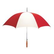 Peerless 2414IPR-Red-White Stick Umbrella Red And White