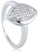 Doma Jewellery MAS09383-6 Sterling Silver Ring with Cubic Zirconia Size 6