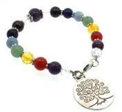 Tree of Life Chakra Bracelet
