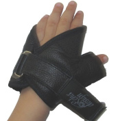 Kids / Childrens / Paediatric Leather Wheelchair Gloves