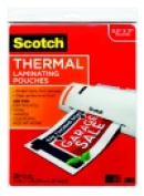 Scotch Letter Size Thermal Laminator Pouch - Pack 20