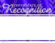 School Specialty Certificate Of Recognition Focus Award - Blank Item Pack - 25