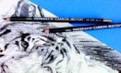 Generals 4B Soft Tip Non-Toxic Round Carbon Sketch Pencil - Black Pack 12