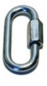 Prime Prodct 180110PK 0.6cm . Trailer Safety Chain Quick Link