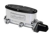 Wilwood 2608556P 2.8cm . Tandem Brake Master Cylinder Silver & Black