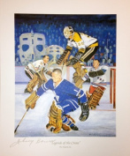 Autograph Authentic flat_litho_legendsofthecrease_bower Legends of the Crease Signed Lithograph - Bower