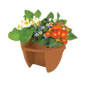 EmscoGroup 2461-1 Bloomers Post Planter - Terra Cotta