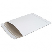 Deluxe Small Business Sales 227-0608SCD 15cm x 20cm . Fiberboard Self-Seal Shipping Mailer White