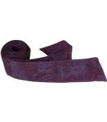 Matching Tie Guy 4029 L6 HT - 110cm . Child Matching Hair Tie - Purple Paisley
