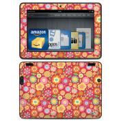 DecalGirl AKX7-SQUISHEDFLWRS Amazon Kindle HDX Skin - Flowers Squished