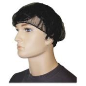 Genuine Joe GJO85135 Black Nylon Hair Net