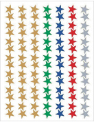 Teacher Created Resources 1275 Assorted Stars Foil Stickers