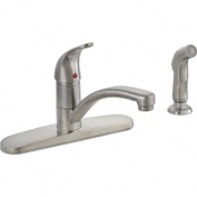 Mintcraft 67534-1004 20cm . Kitchen Faucet 1 Handle With Spray - Brushed Nickel