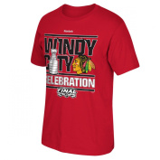Chicago Blackhawks Reebok NHL 2015 Stanley Cup Champions Parade Men's T-Shirt