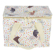 Sass & Belle Insulated Recycled Plastic Lunch Bag - Happy Animals On Bikes