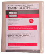Master Tradesman 85328 1.2m x 4.6m Poly Backed Canvas Dropcloth