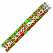 Musgrave Pencil Co Inc MUS2528D Dots Of Christmas Fun Pencil 12 Pk