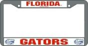 Caseys Distributing 9474609823 Florida Gators Chrome Licence Plate Frame