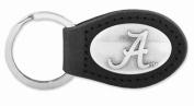 ZeppelinProducts UAL-KL6-BLK Alabama Leather Key Fob Black