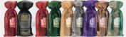 Joann Marie Designs IBT6X15RE Sheer Metallic Wine Bag - Red Pack of 12