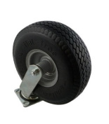 Marathon Industries 00302 25cm . Swivel Caster with Flat-Free Tyre