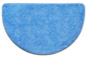 Kashi Home RS024861 46cm x 80cm . Hailey Slice Rug Light Blue