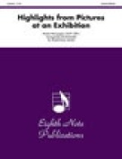 Alfred 81-DBQ2123 Highlights- from Pictures at an Exhibition - Music Book
