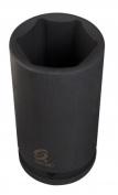 Sunex Tool SU436D .190cm . Drive Deep 6-Point SAE Impact Socket - 2.9cm .