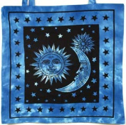 AzureGreen RB74SS Sun And Stars Tote Bag