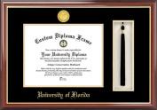 Campus Image FL994PMHGT University of Florida the Swamp Tassel Box and Diploma Frame