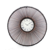 Teton Home WD-042 Metal Wall Clock - Pack of 2