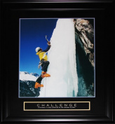 Midway Memorabilia Challenge Ice Cliffhanger Motivational Large Frame