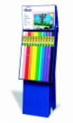 Fadeless Display Rack - 3.7m H x 24 W in. - Pack 48