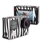 DecalGirl GPH4S-ZEBRA GoPro Hero4 Silver Skin - Zebra Stripes
